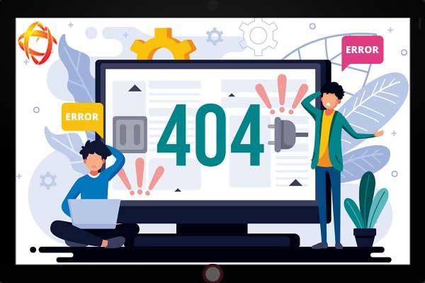 خطای 404 چیست و چرا رخ می دهد؟